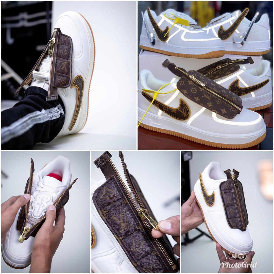 Designer Air Louis Vuitton Sneaker | Shoes for sale in Lagos Island, Lagos State, Nigeria
