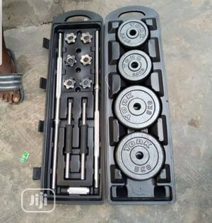Weight Barbell Set | Sports Equipment for sale in Lagos State, Surulere