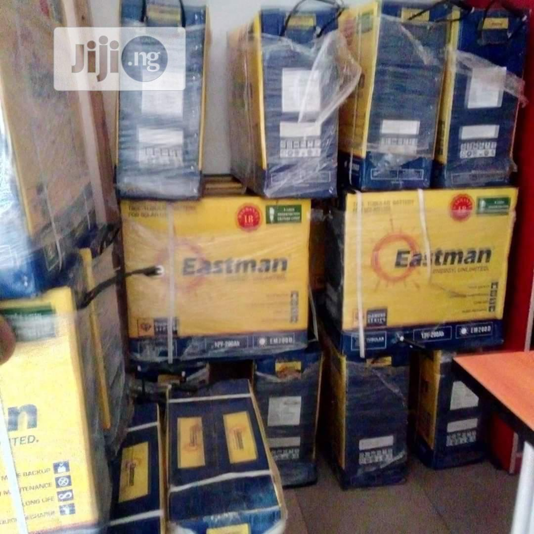 200ah Eastman Tubular Battery | Solar Energy for sale in Ojo, Lagos State, Nigeria