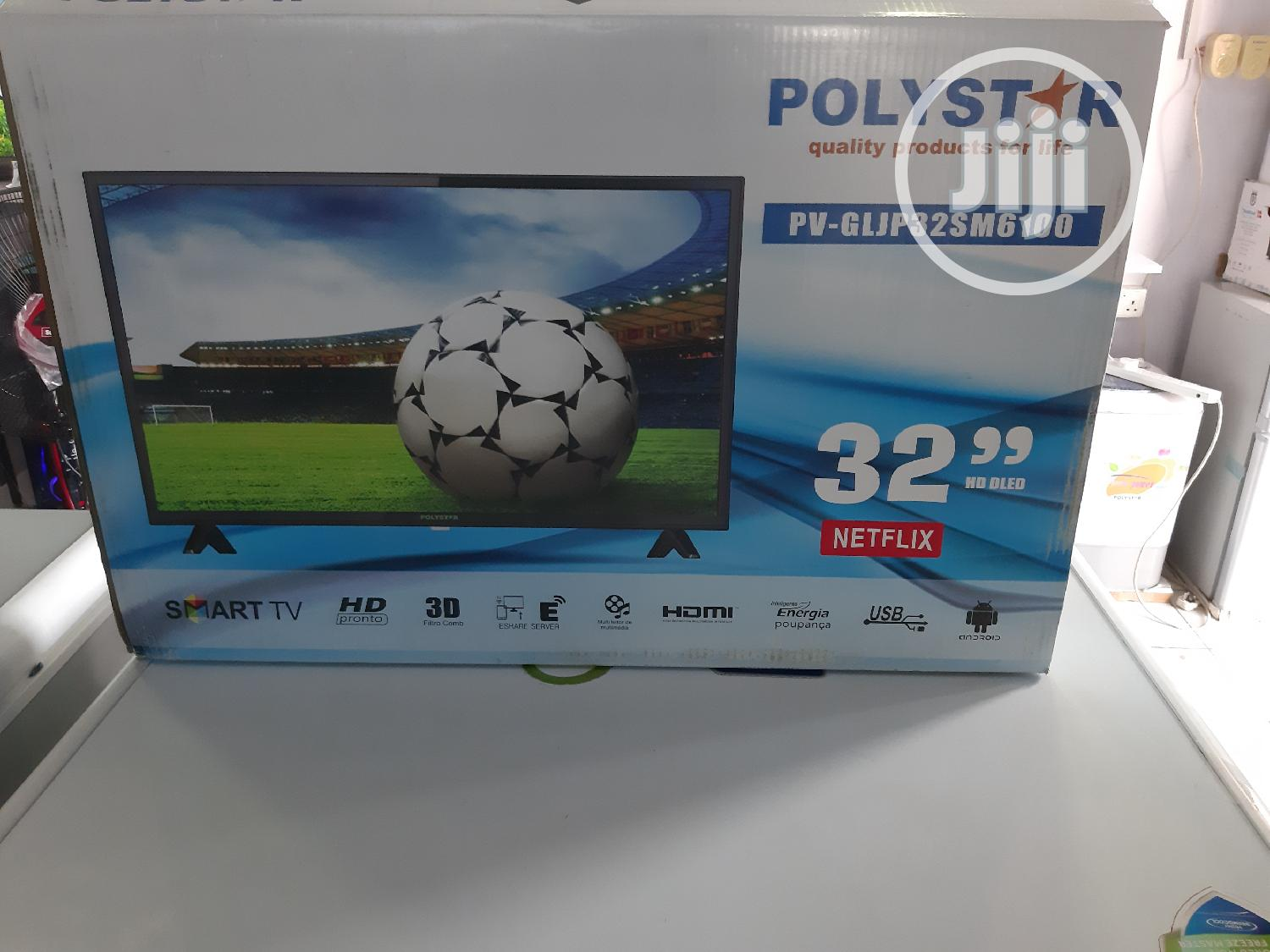 """Polystar 32""""Smart Television 