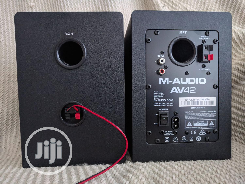M-Audio Av42 Studio Monitor | Audio & Music Equipment for sale in Mushin, Lagos State, Nigeria