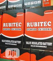 500ah 2v Rubitec Battery | Solar Energy for sale in Lagos State, Ojo