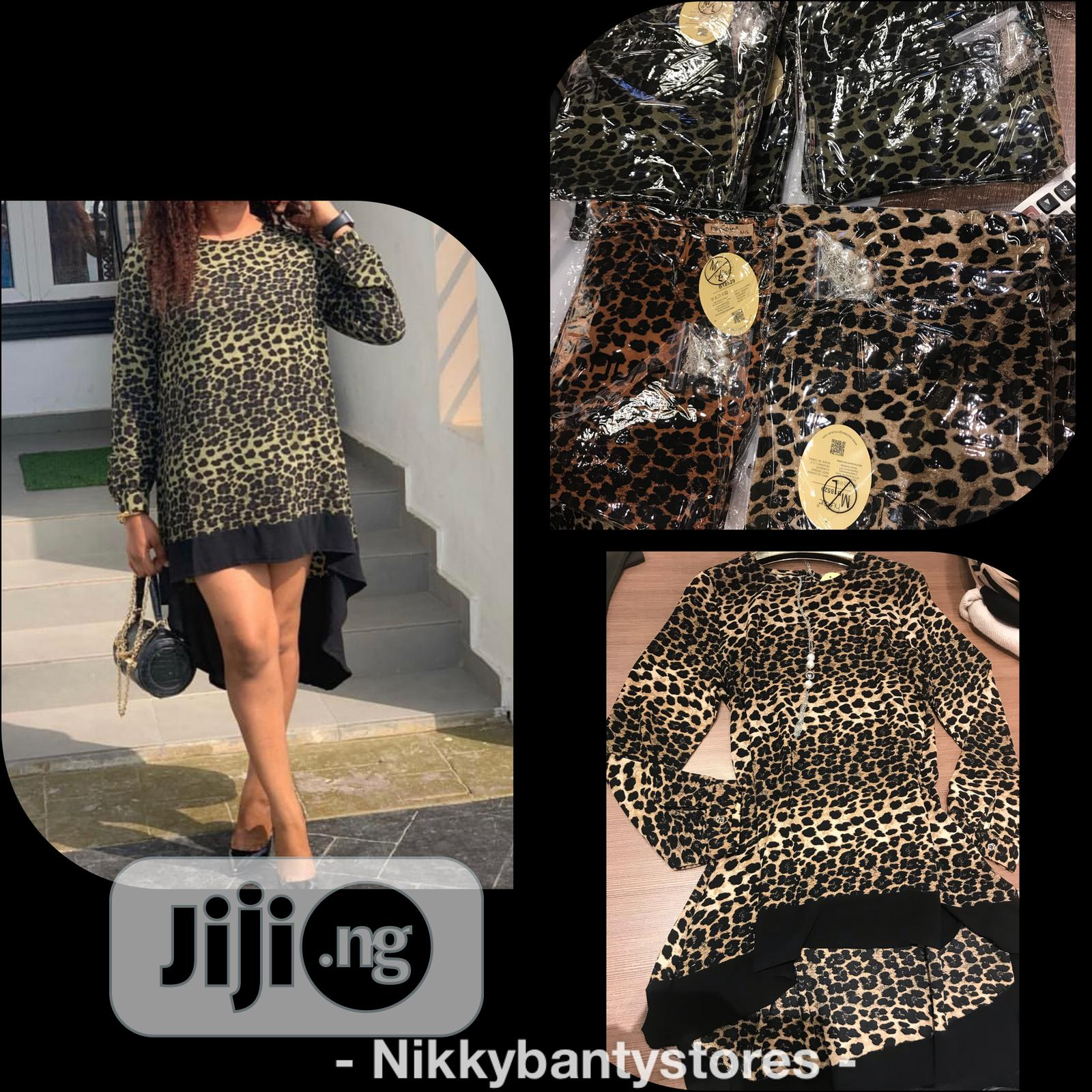Archive: Gown Animal Print Top