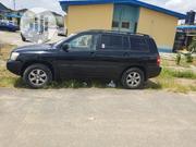 Toyota Highlander Limited V6 4x4 2004 Blue | Cars for sale in Lagos State, Ikeja