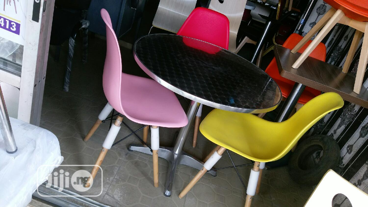 Resturant Set Of Table And Classic Chair | Furniture for sale in Victoria Island, Lagos State, Nigeria