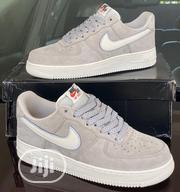 "Air Force 1 ""Grey"" Sneakers 