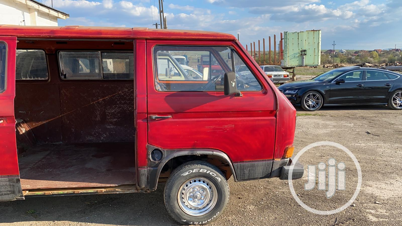 Volkswagen Transporter 1988 Red | Buses & Microbuses for sale in Amuwo-Odofin, Lagos State, Nigeria