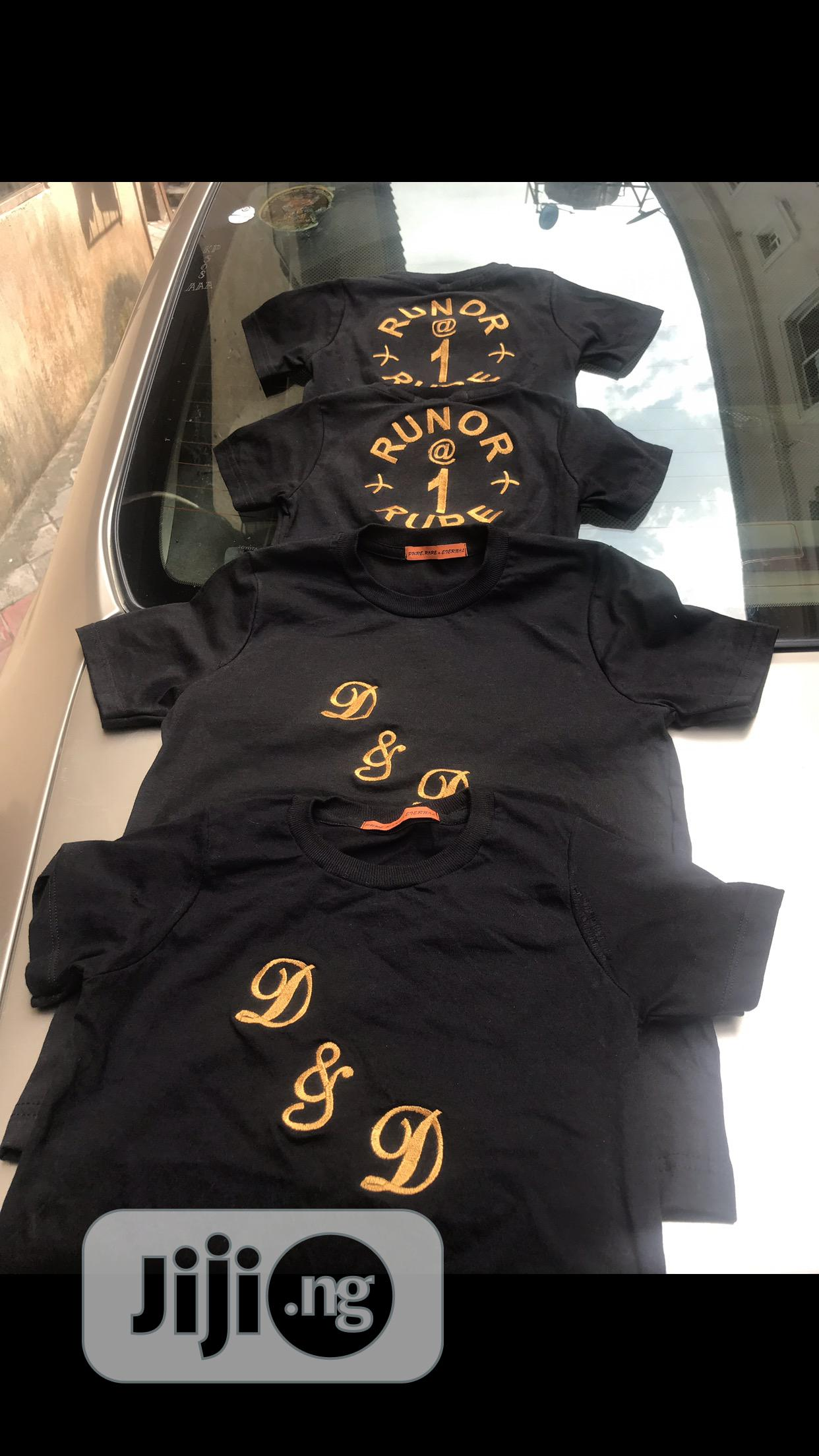 Lovely Custom Lovely Polos And T-shirt'S With Names | Clothing for sale in Amuwo-Odofin, Lagos State, Nigeria