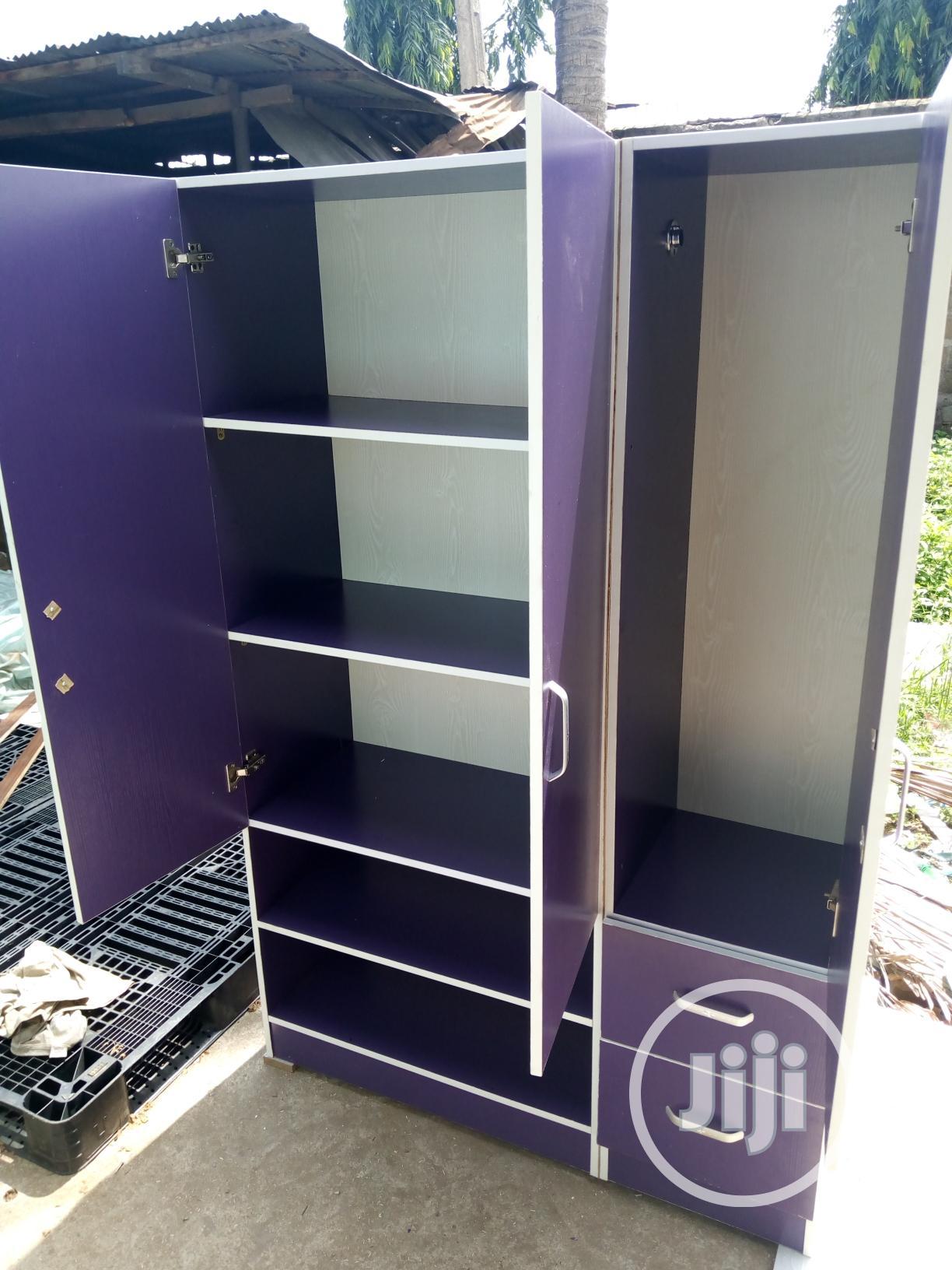 6ft X 4ft Wardrobe | Furniture for sale in Oshodi-Isolo, Lagos State, Nigeria
