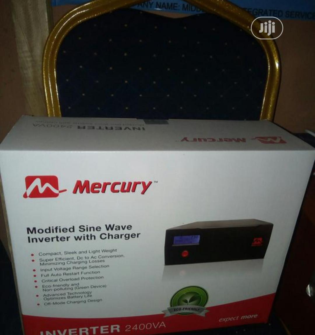 Mercury 2.4kva 24v Inverter