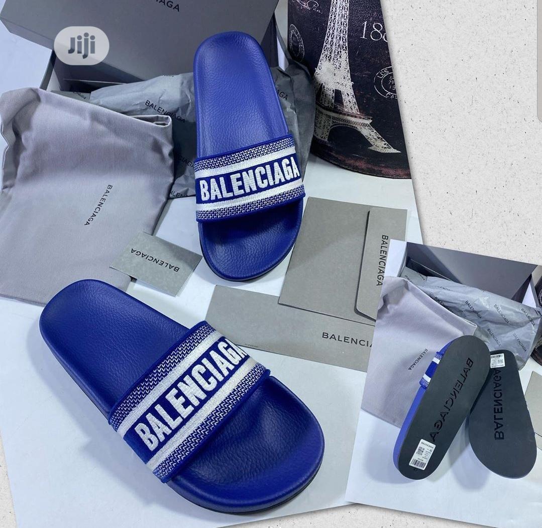 High Quality Balenciaga Designer Slides