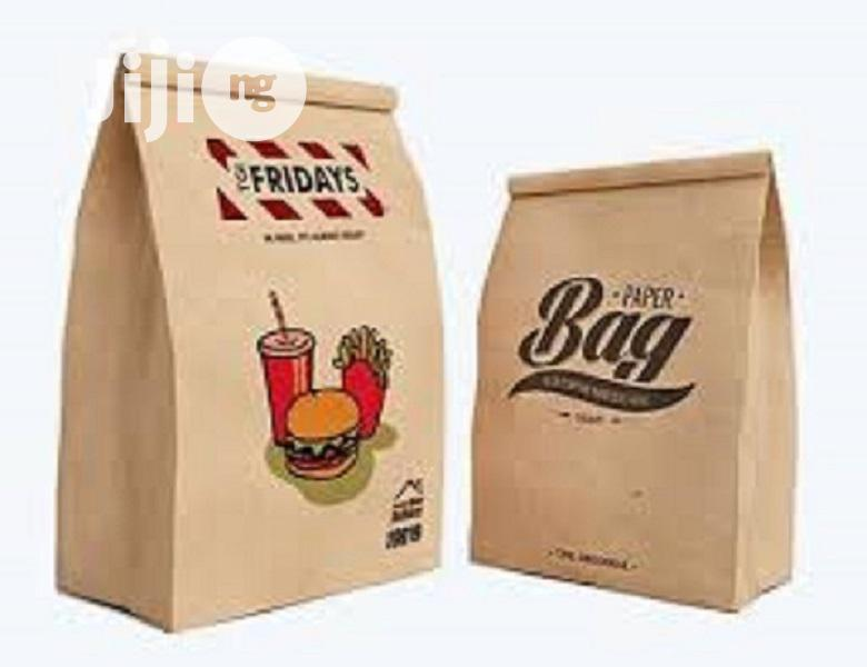 Archive: Customised Brown Paper Bag
