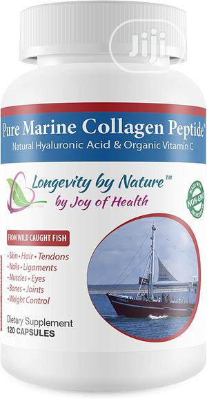 Joy of Health Pure Marine Collagen Peptide Capsules With Natural   Vitamins & Supplements for sale in Lagos State, Ojo