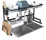 Over Sink Dish Drying Rack Drainer Stainless Steel Kitchen Shelf | Home Accessories for sale in Lagos State, Lagos Island