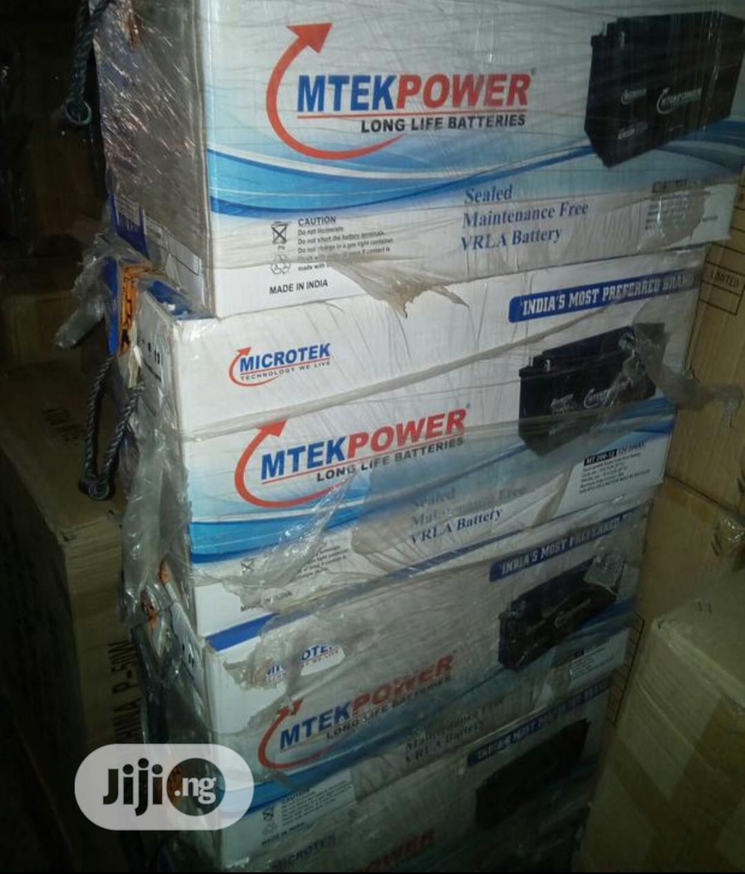 Archive: Microtek 200ah 12v Battery