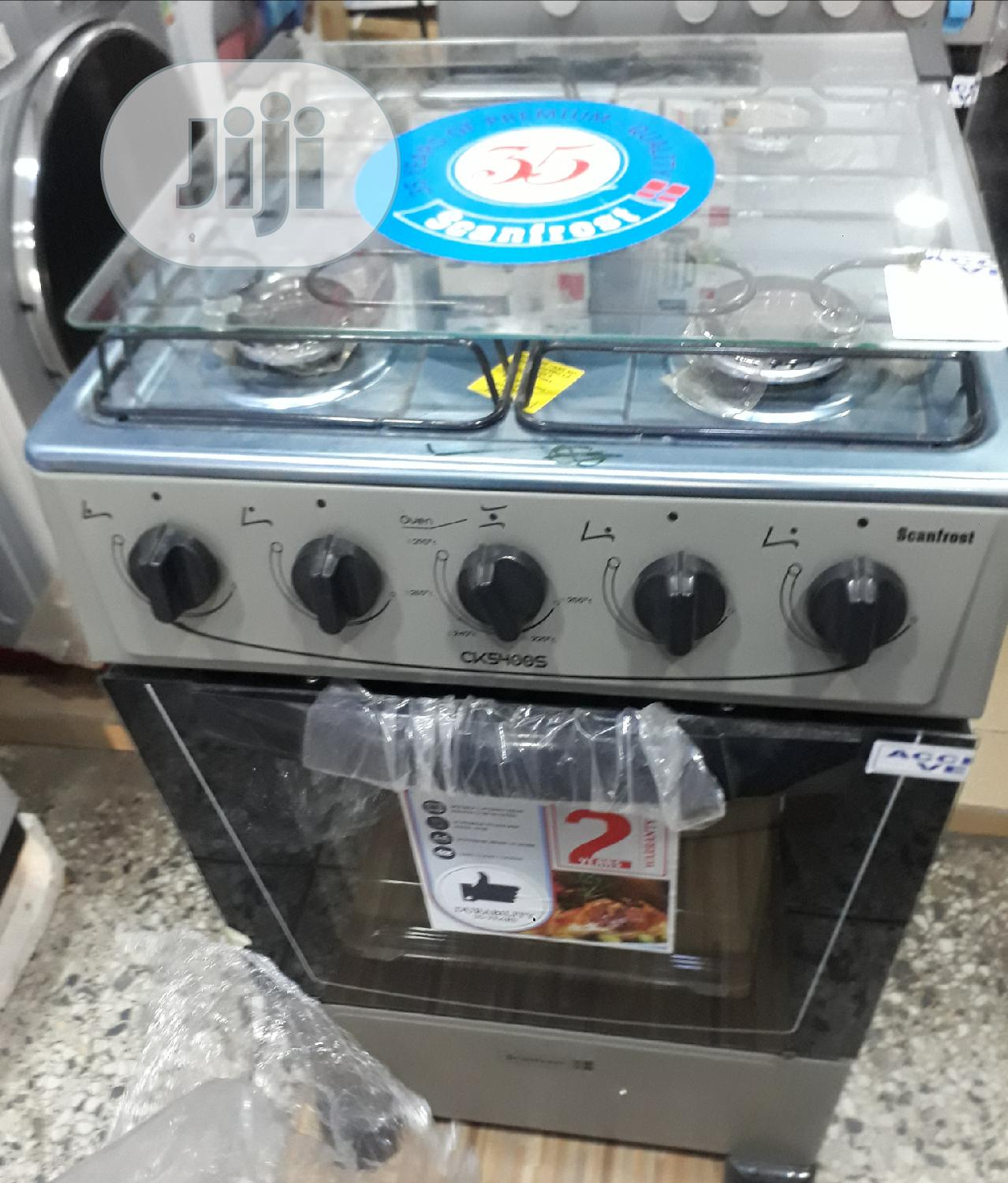 Scanfrost 4burner Cooking Gas 50×50