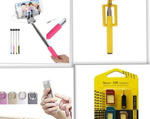 3 In 1 Monopoly Selfie Stick + Phone Holder + Nano Phone Injection   Accessories for Mobile Phones & Tablets for sale in Lagos State, Ojodu