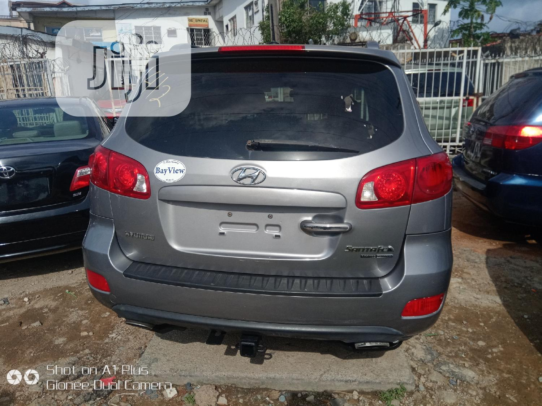 Hyundai Santa Fe 3.3 Limited AWD 2008 Gray | Cars for sale in Ikeja, Lagos State, Nigeria