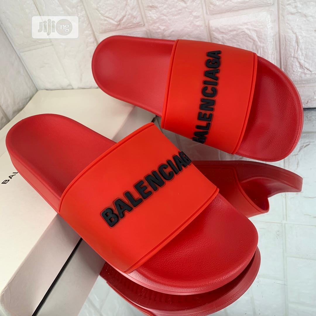 Designer Balenciaga Slippers