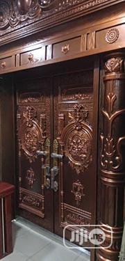 Copper Door With Steel   Doors for sale in Lagos State, Orile
