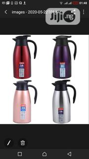 Stainless 1600ML Thermal Flask Vacuum Insulated Water Pot Coffee Tea | Kitchen & Dining for sale in Lagos State, Surulere