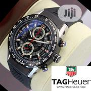 TAG Heuer Chronograph Rubber Strap Band | Watches for sale in Lagos State, Lagos Island