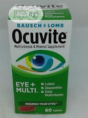 BAUSCH + LOMB Ocuvite 50+ Eye Vitamin - Mineral Supplement | Vitamins & Supplements for sale in Lagos State, Ojo