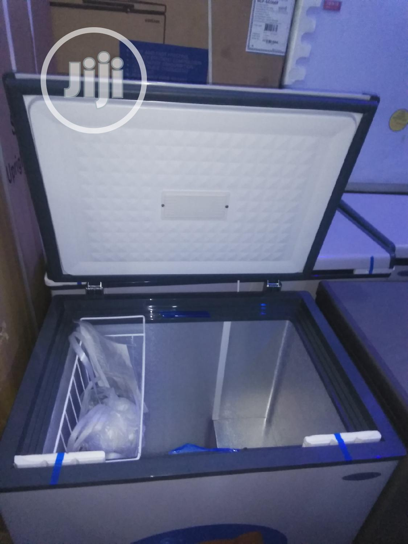 Aucma Anti Rust European Deep Freezer With 2yrs Warranty.