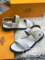 Qualit Mens White Sandals | Shoes for sale in Lagos State, Lagos Island