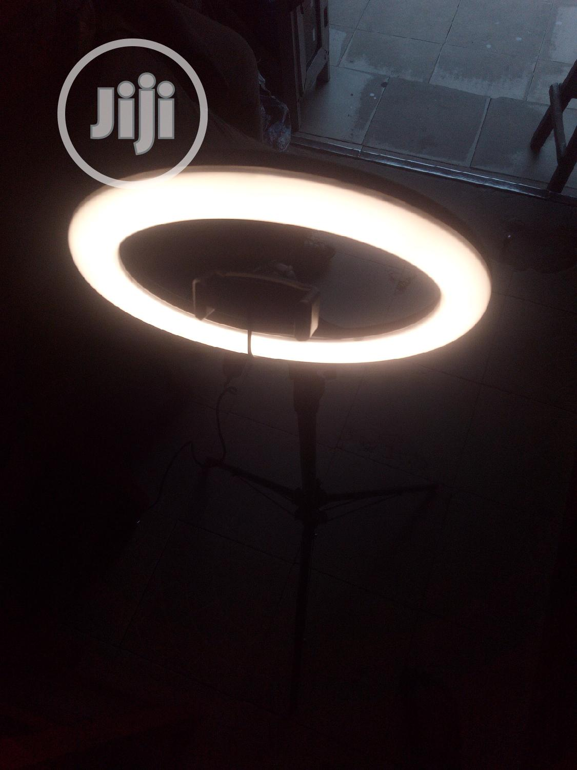 Phone Ring Light With The Stand | Accessories & Supplies for Electronics for sale in Ikeja, Lagos State, Nigeria