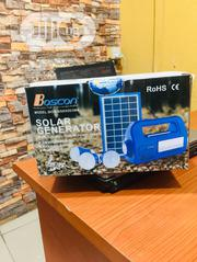 BOSCON Solar Generator Kit With Radio | Solar Energy for sale in Lagos State, Lekki Phase 1