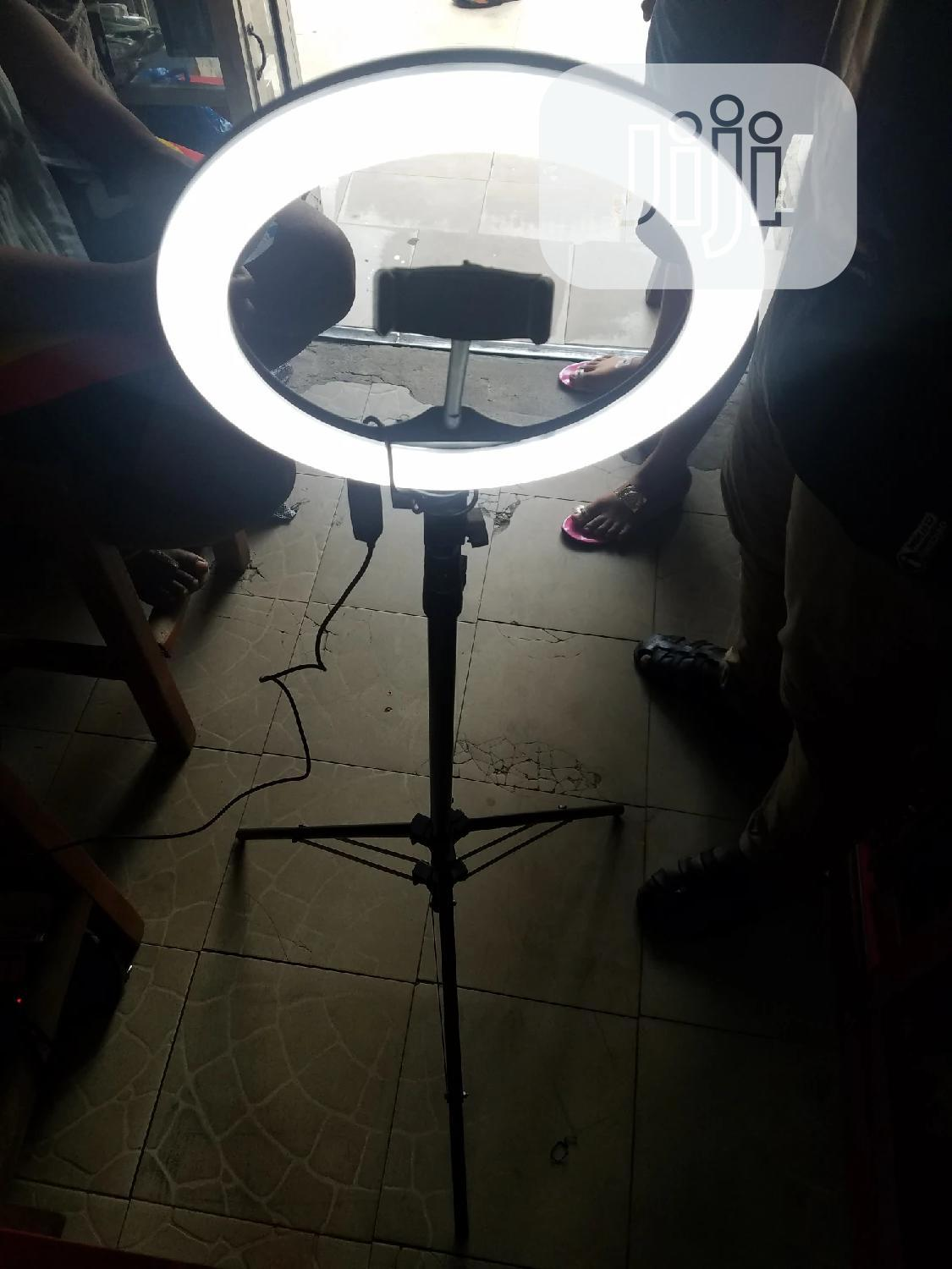 Phone Ring Light With Stand