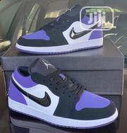 Air Jordan 1low Purple   Shoes for sale in Lagos State, Lagos Island