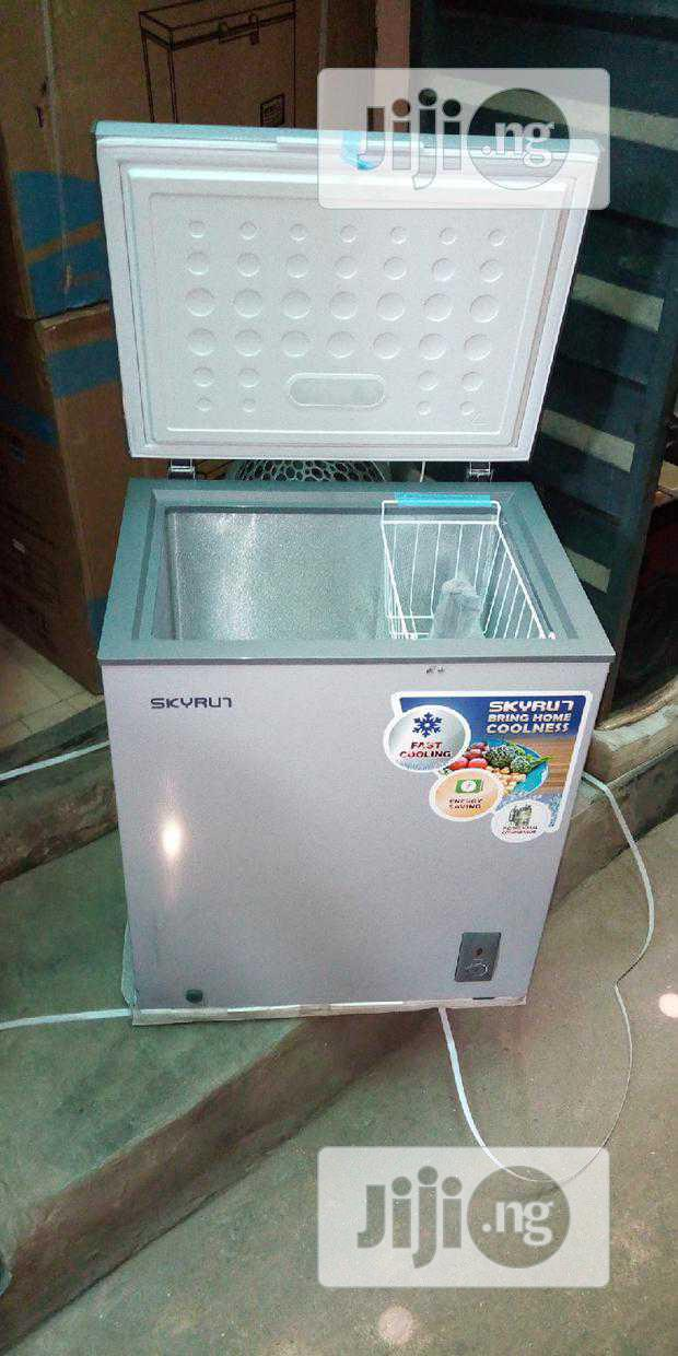 Brand New Skyrun BD-145A Deep Freezer Super Freezing 2years Warranty | Kitchen Appliances for sale in Ojo, Lagos State, Nigeria