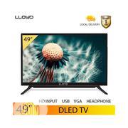 Lloyd TV 49inch With Free Bracket Black One Years Warranty | TV & DVD Equipment for sale in Delta State, Warri