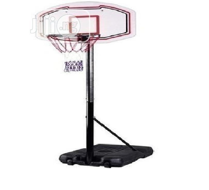 Adjustable Fiber Basketball Stand