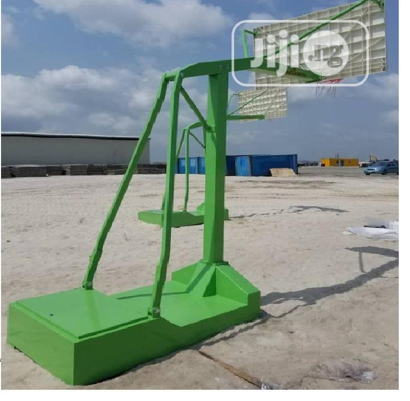 Olympic Standard Basketball Stand