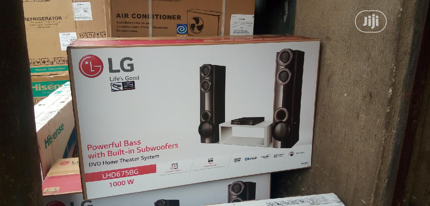 Archive: New LG DVD Home Theatre Bluetooth 4.2ch ( LHD675BG) 2years