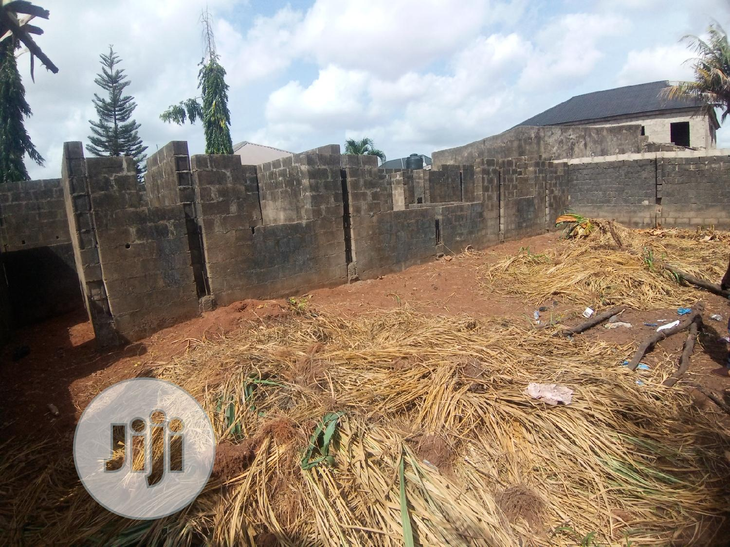 Uncompleted Structure on Full Plot of Land at New London Est Baruwa