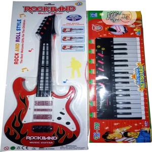 Children Electronic Guitar And Keyboard | Toys for sale in Lagos State, Lagos Island (Eko)