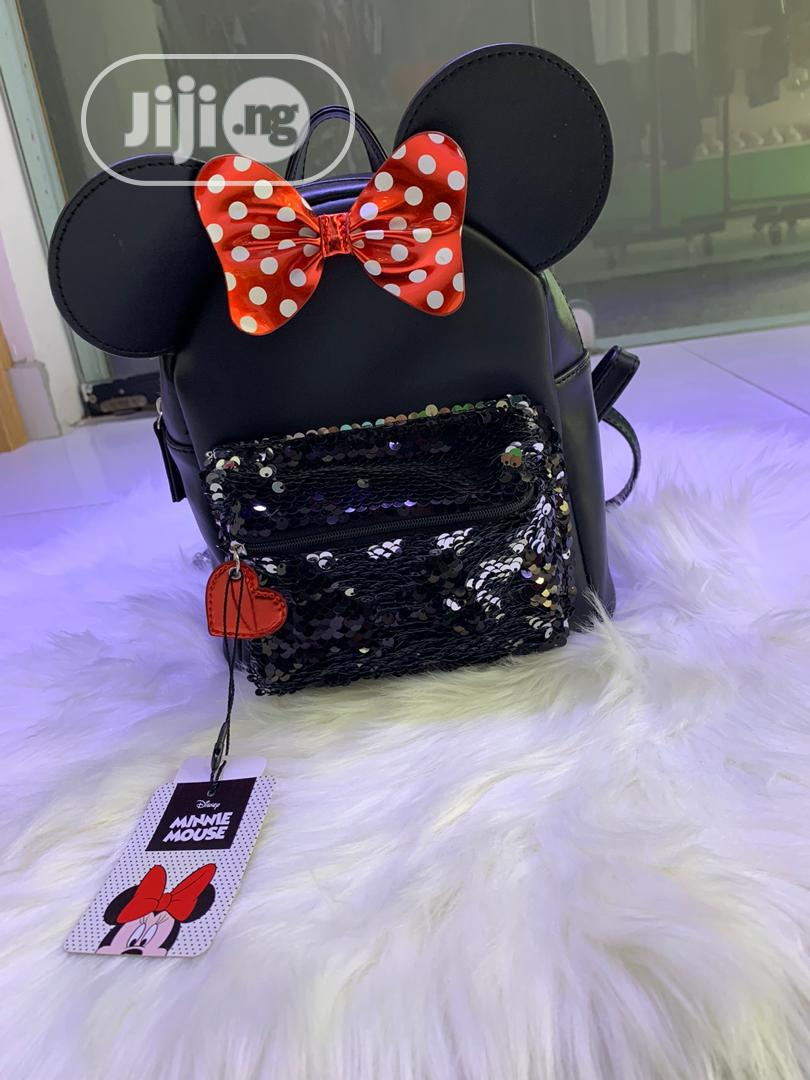 Minnie Mouse Back Pack For Girls