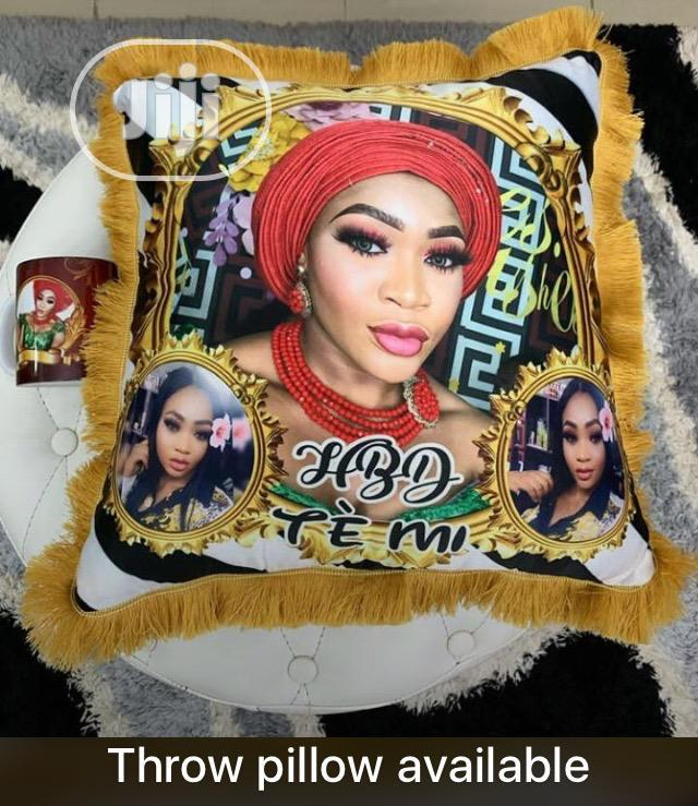Frame,Throw Pillow,Customized Bags And Cup Mugs Available. | Photography & Video Services for sale in Ifako-Ijaiye, Lagos State, Nigeria