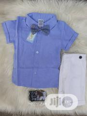 3pcs Clothing Sets Shirt, Suspender, Bow Tie and Pants   Children's Clothing for sale in Lagos State, Oshodi-Isolo