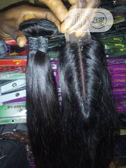 3bundles+Kim-k Closure Straight Human Hair Weavons 14inches | Hair Beauty for sale in Cross River State, Calabar