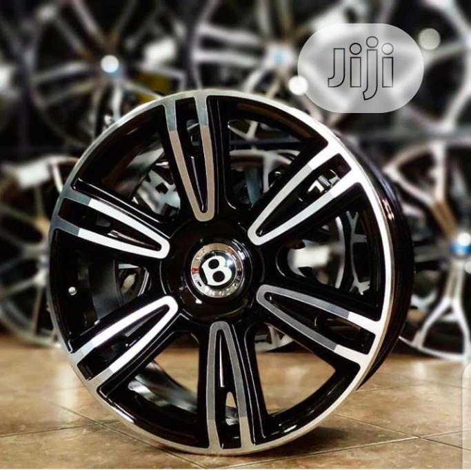 Archive: German Original Bentley Wheels