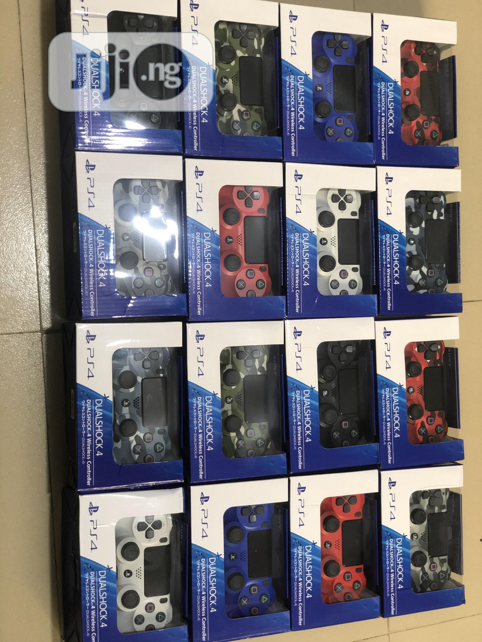 PS4 Controller Pad for Playstation 4 | Video Game Consoles for sale in Ikeja, Lagos State, Nigeria