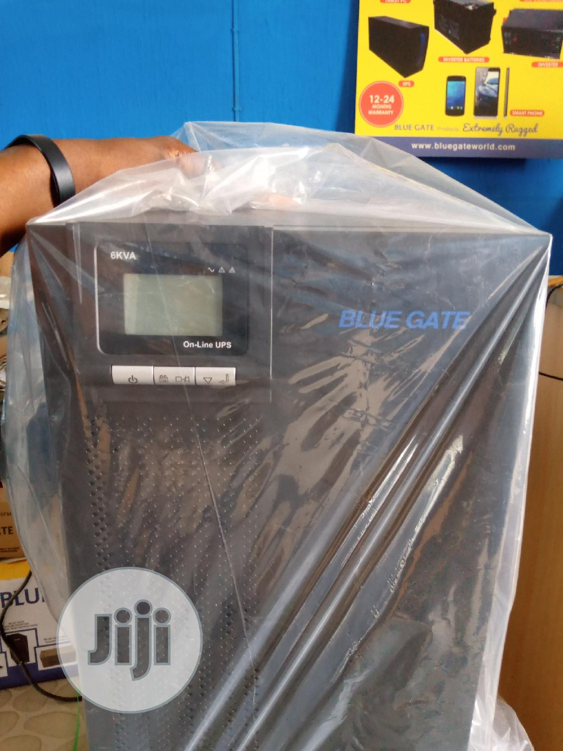 Blue Gate 6kva Industrial UPS(Online) | Computer Hardware for sale in Ojo, Lagos State, Nigeria