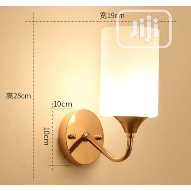 Golden Wall Light. LED