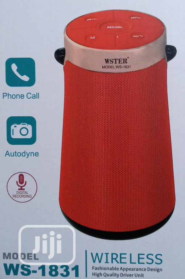 Wster Heavy Boom Music Player