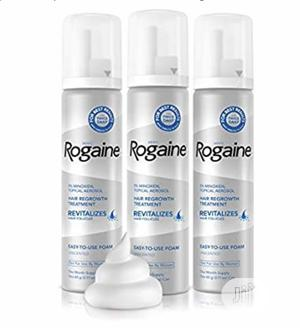 Rogaine 5% Minoxidil Foam For Hair Regrowth - 1 Bottle   Hair Beauty for sale in Lagos State, Ikeja
